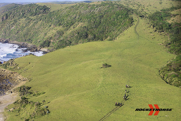 An example of the beautiful country and terrain we were riding in. Photo courtesy Daniela Zondagh.