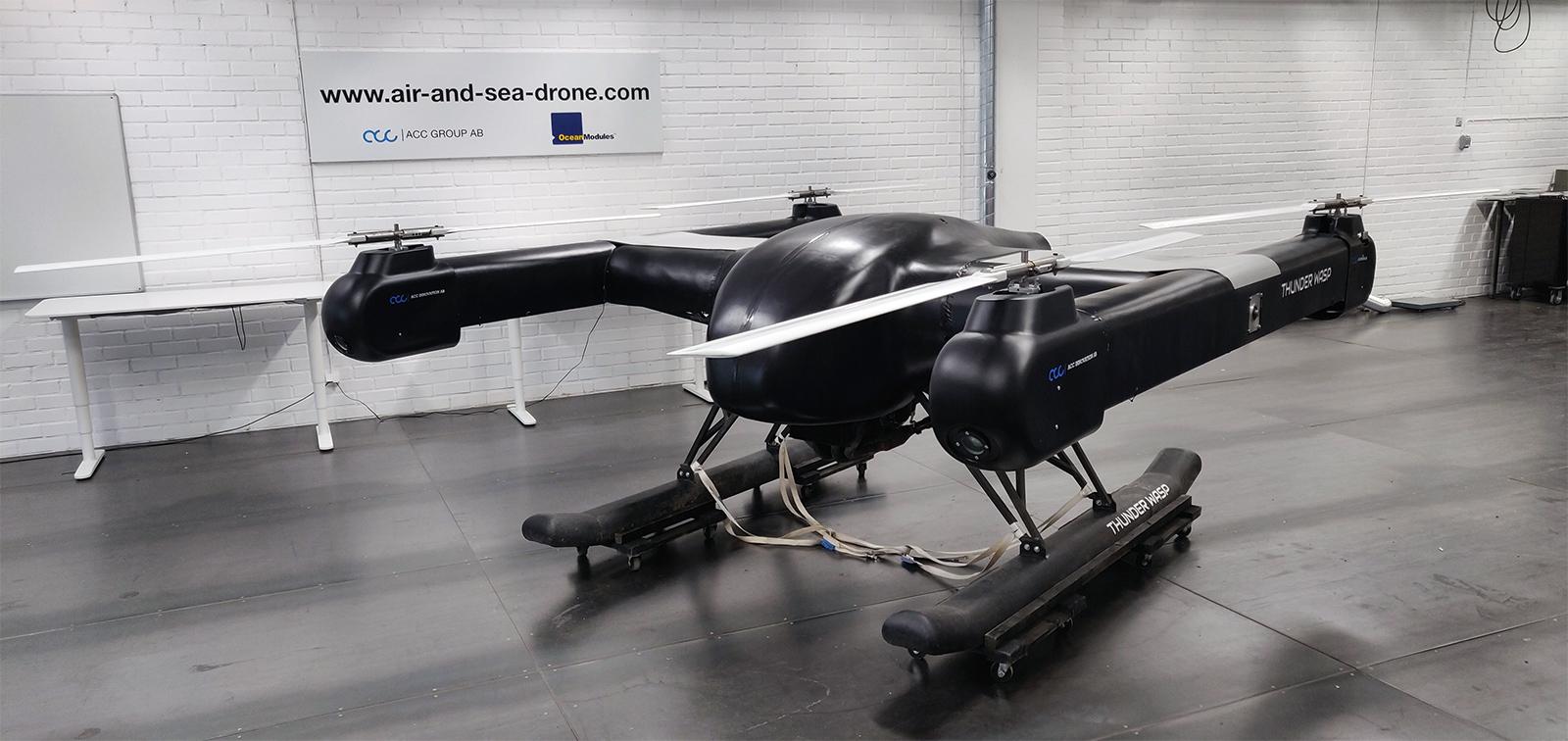 Air & Sea Drone Thunder Wasp II