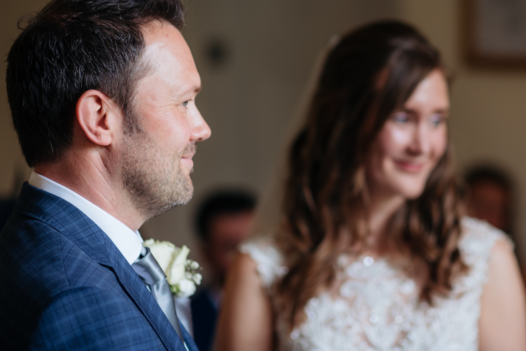 - Throughout the day I work in an unobtrusive way, I'll mingle amongst the guests and often capture events and emotions from a distance so I truly capture candid moments. I carefully use angles and light to bring a natural view of your wedding day.