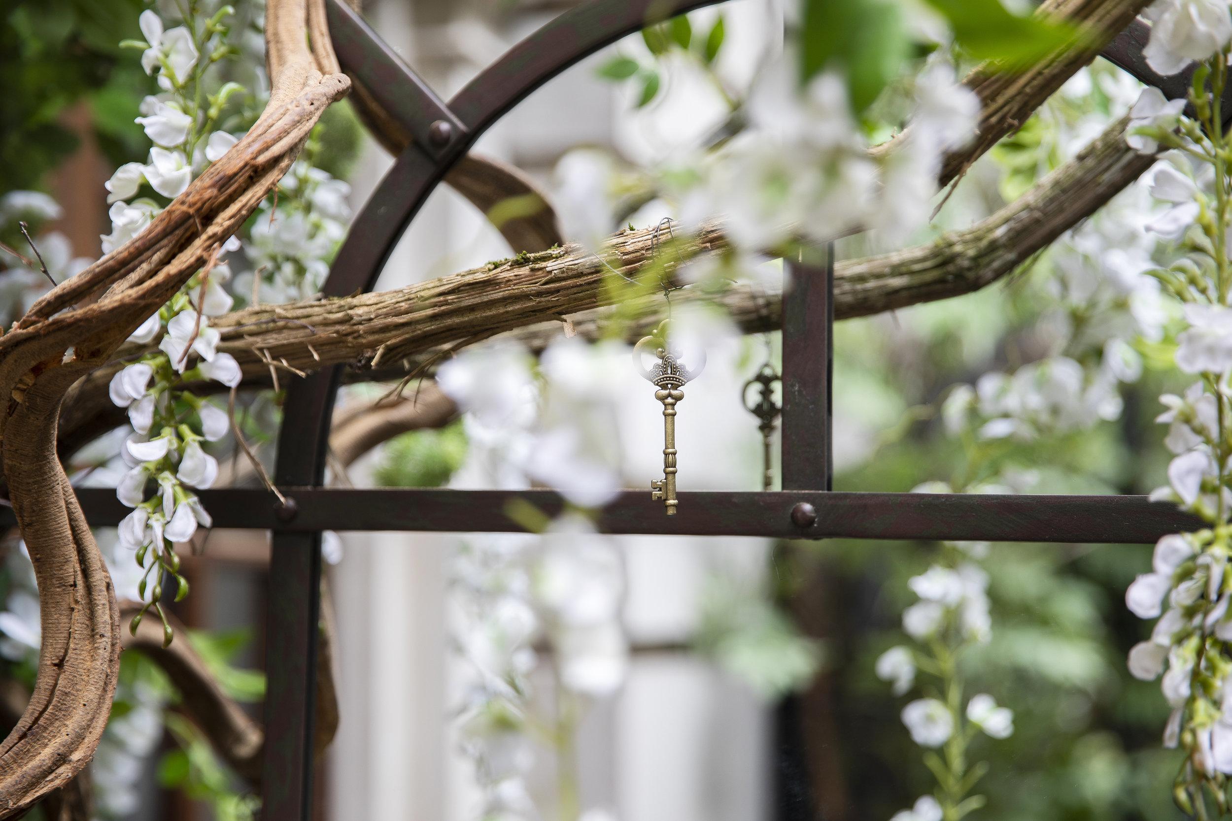 The Nyetimber Secret Garden - Rosewood Hotel, London