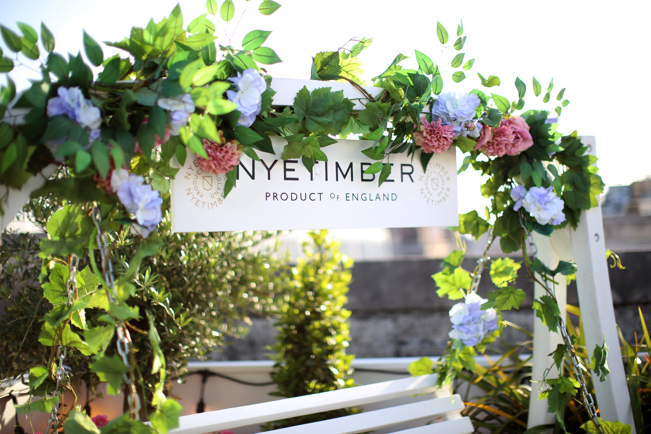 The Nyetimber Manor - Selfridges &Co. Summer Rooftop Take Over