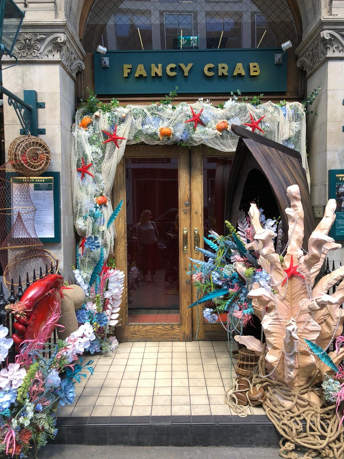 Under The Sea - FANCY CRAB | LONDON