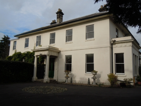PART OF PARKFIELDS HOUSE AS IT LOOKS TODAY