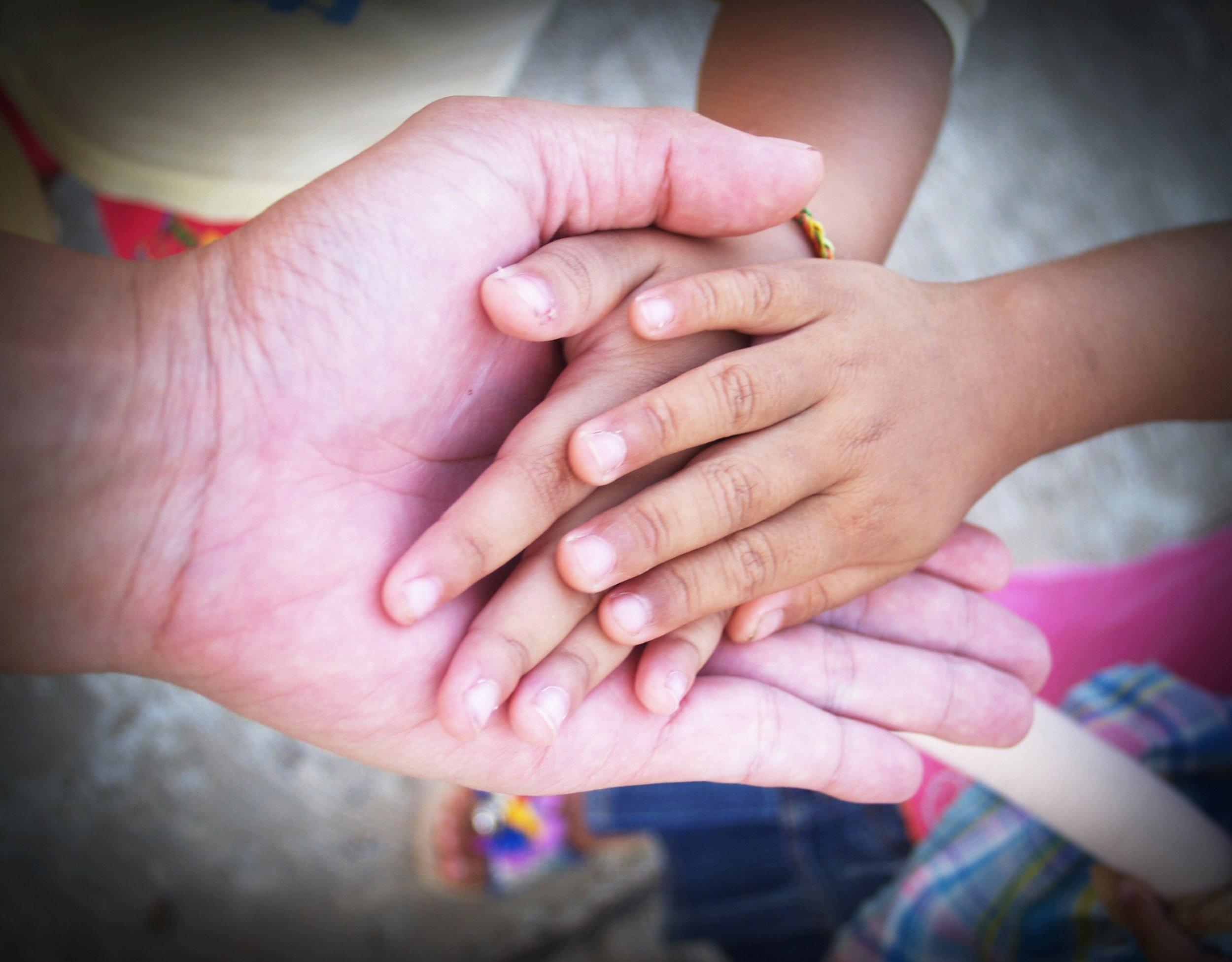 Many hands …
