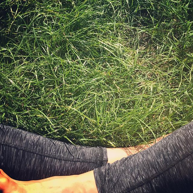 Cannon-balled my way to the end of a wonderful year of change and challenge.  Now... G R O U N D I N G 🌾🍃🍂🍃🌾 #theslowdown #grounding #outdoorpractice #morningpractice #yogapractice #birdsong #home