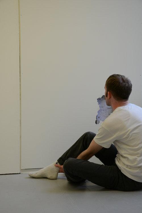 dylan meade scott hopper dual piece performance installation 9