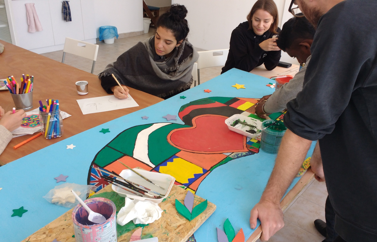 Azadi Community Center   In order to empower and create hope amongst the refugees, to meet some of their basic needs, improve their welfare and to aid with cultural transition, we offer recreational activities, skills-based learning and a supportive atmosphere to create a sense of community and purpose through our Azadi Community Center near Belgrade.    Read more…
