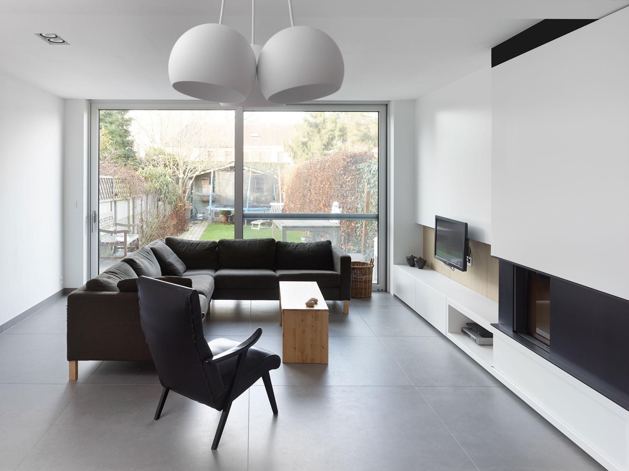 Woning D. L. Interieur Living