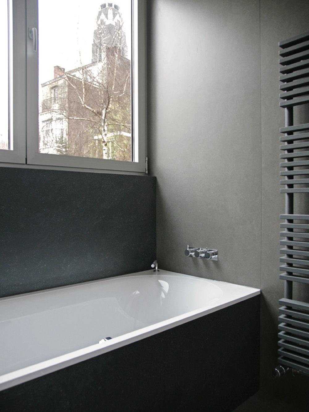 Detailbeeld van de badkamer.