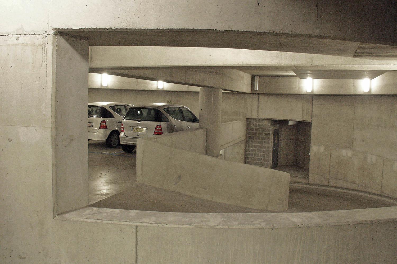 De ondergrondse parking van De Rede