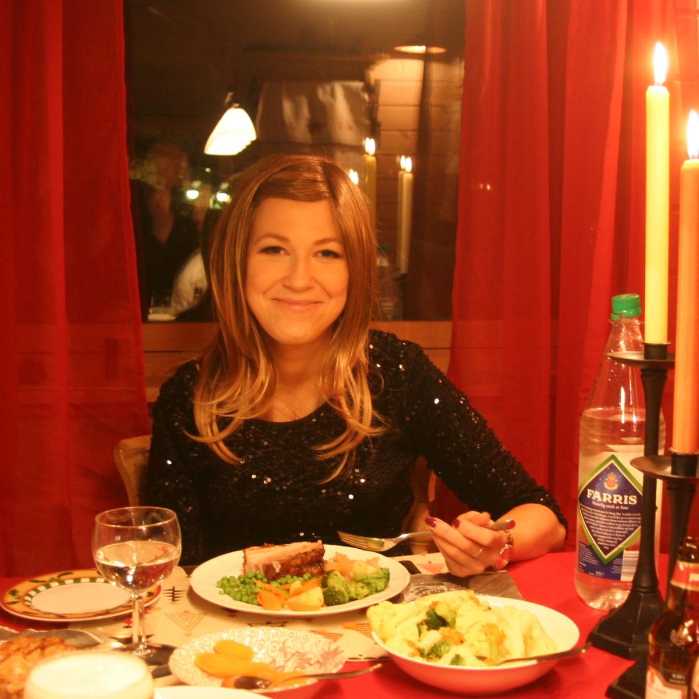 Julemiddag med parykk i 2013