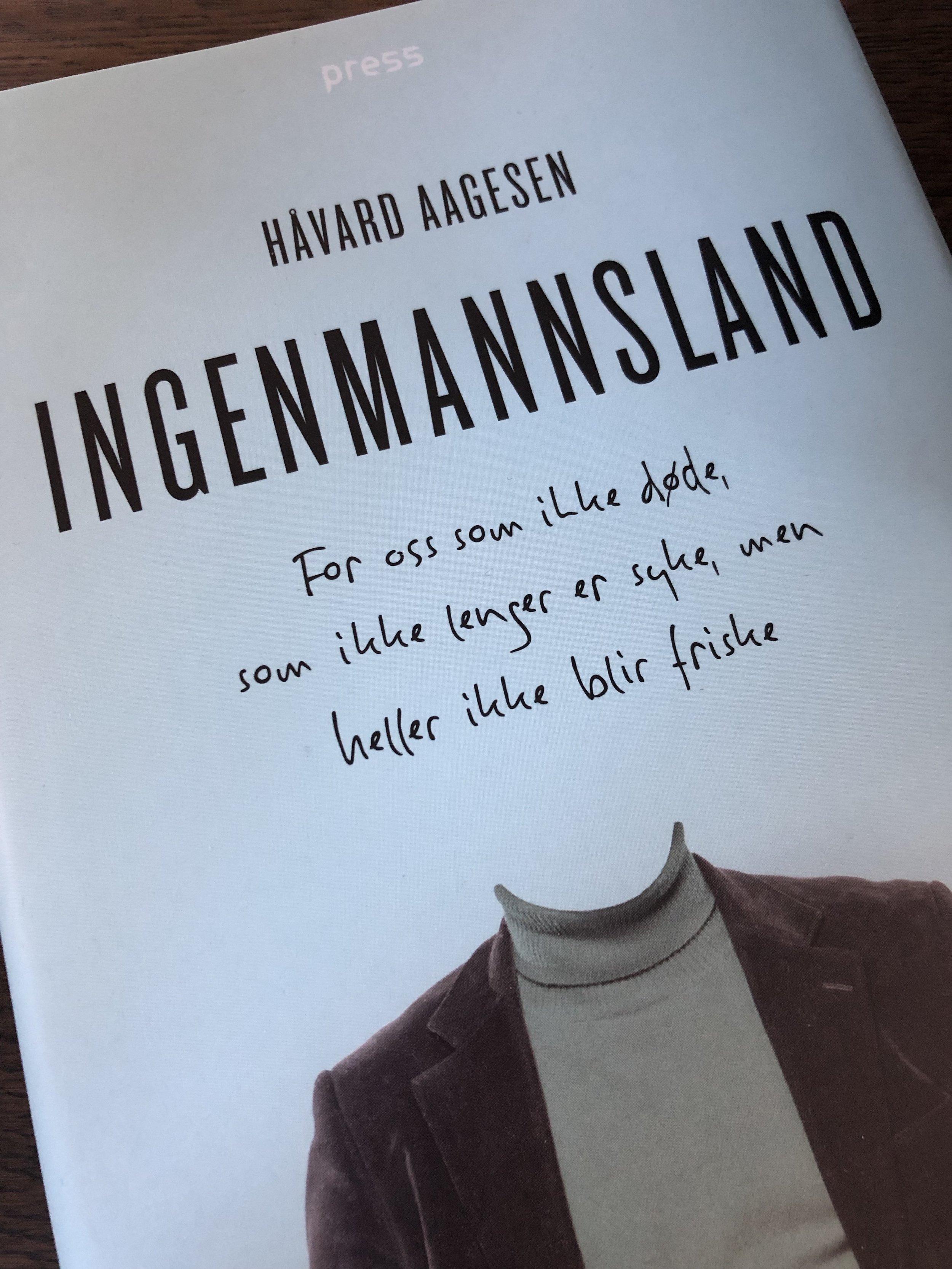I sin bok Ingenmannsland beskriver Håvard Aagesen sin opplevelse av å være kreftfri, men ikke frisk.