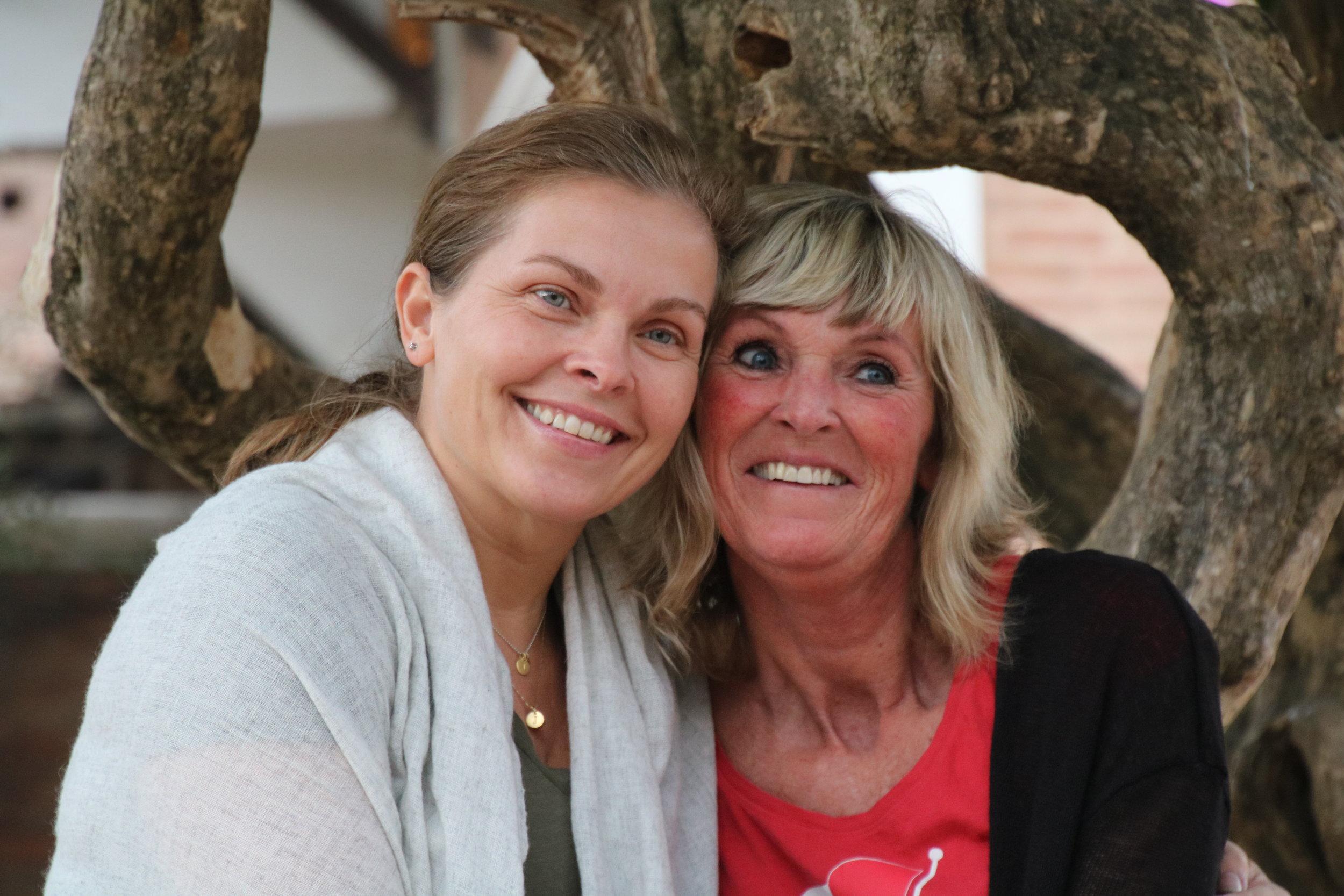 Elin Ekrol og Anne Gunn Wiesener