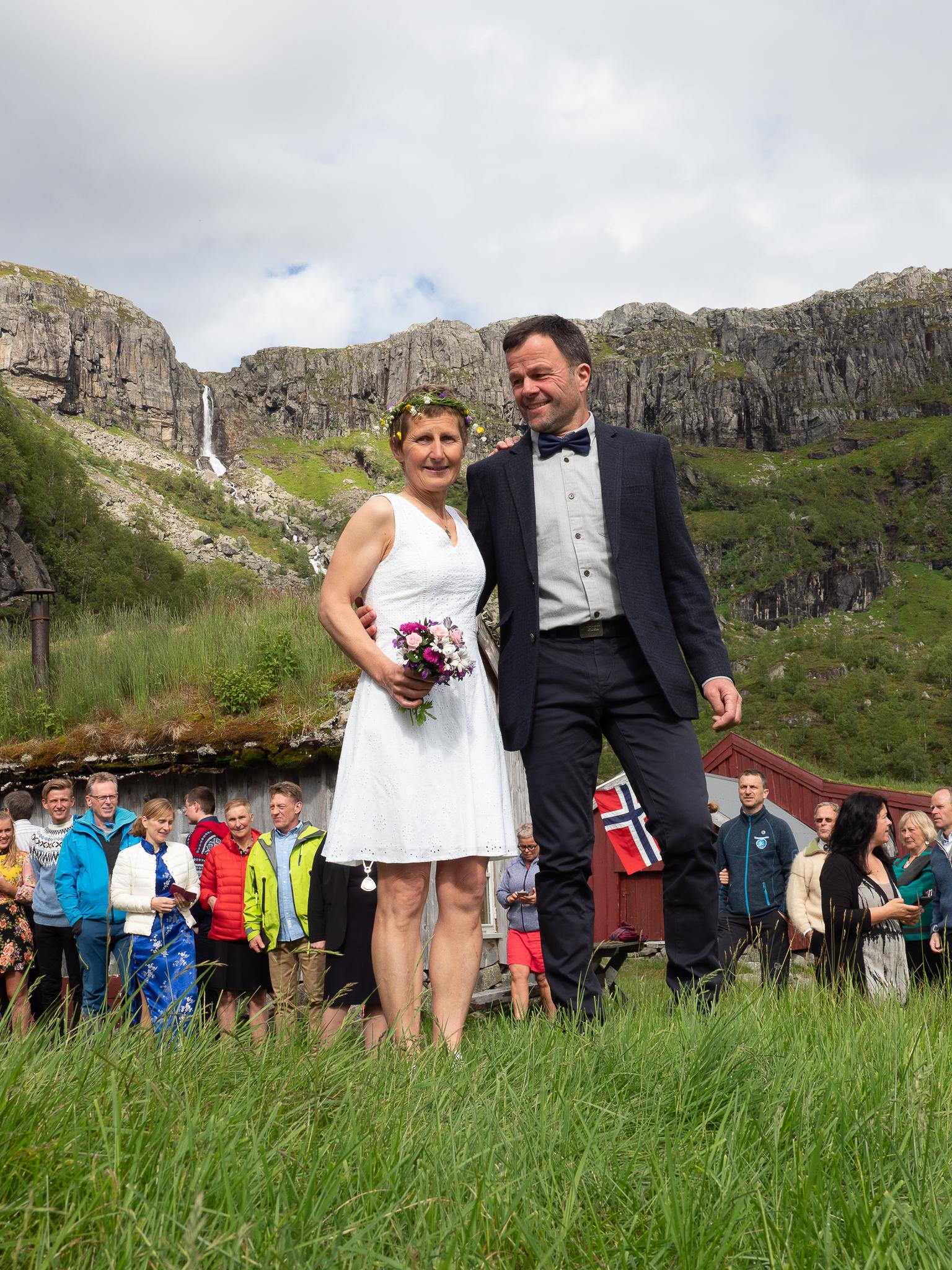 Meg og Olav Martin  Foto: Harald Torkelsen
