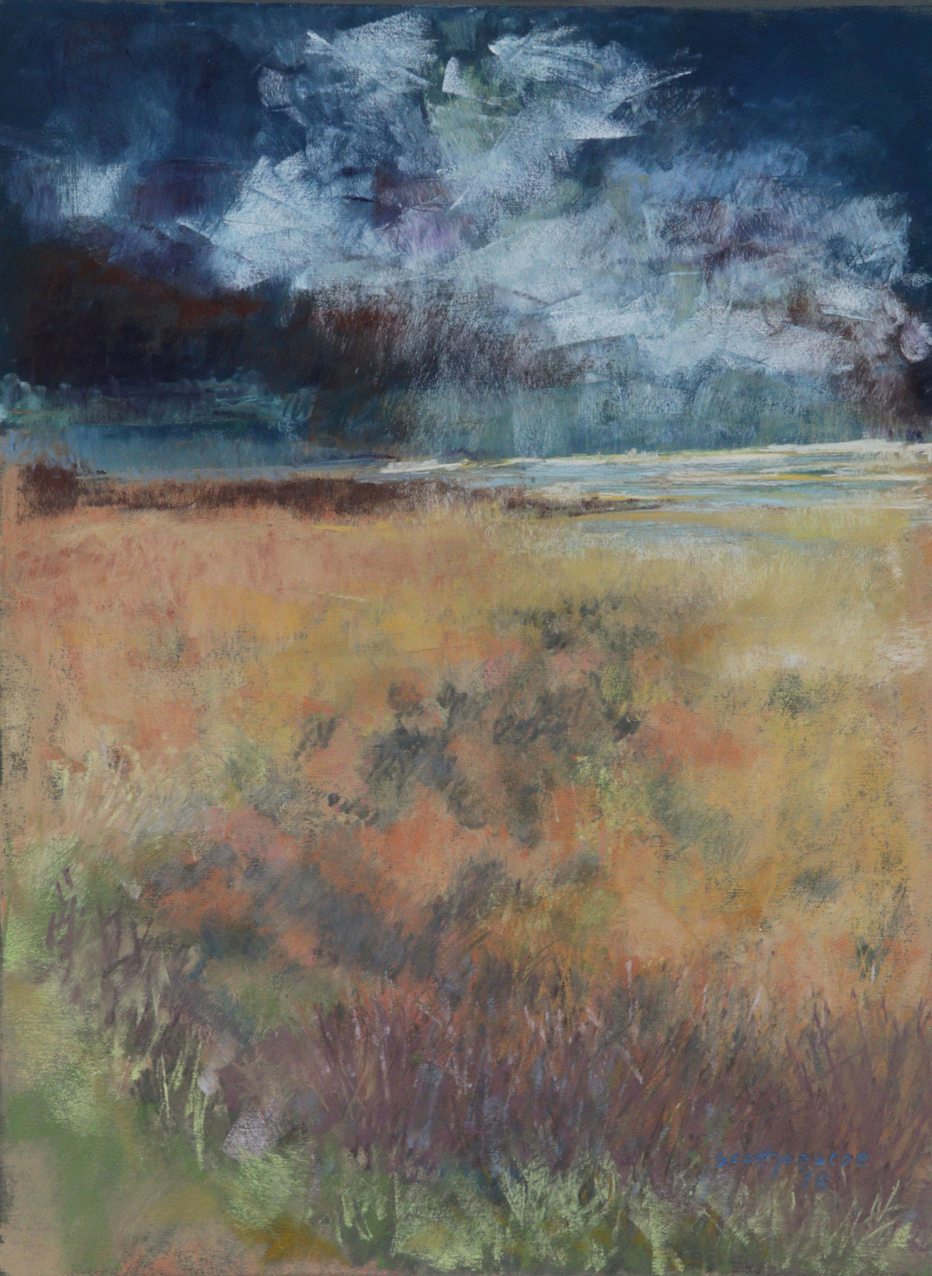 Thunder's Approach 16x12 Soft Pastel