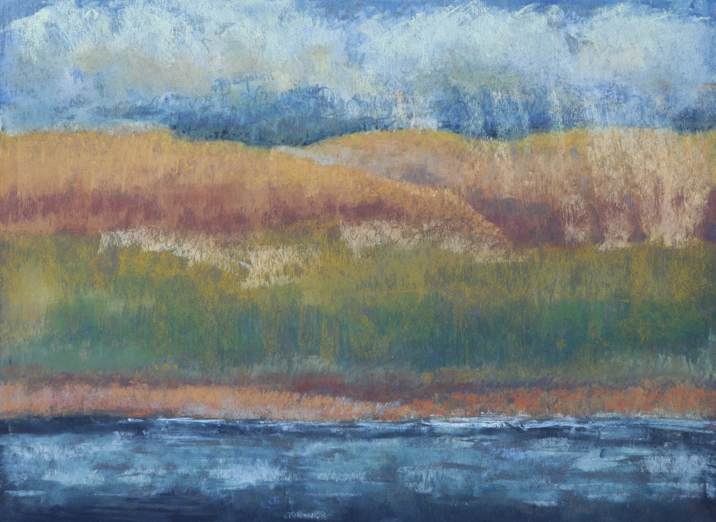 Far Shore No. 2 12x16 Soft Pastel