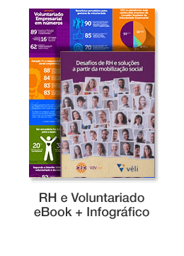 RH e Voluntariado eBook + Infográfico
