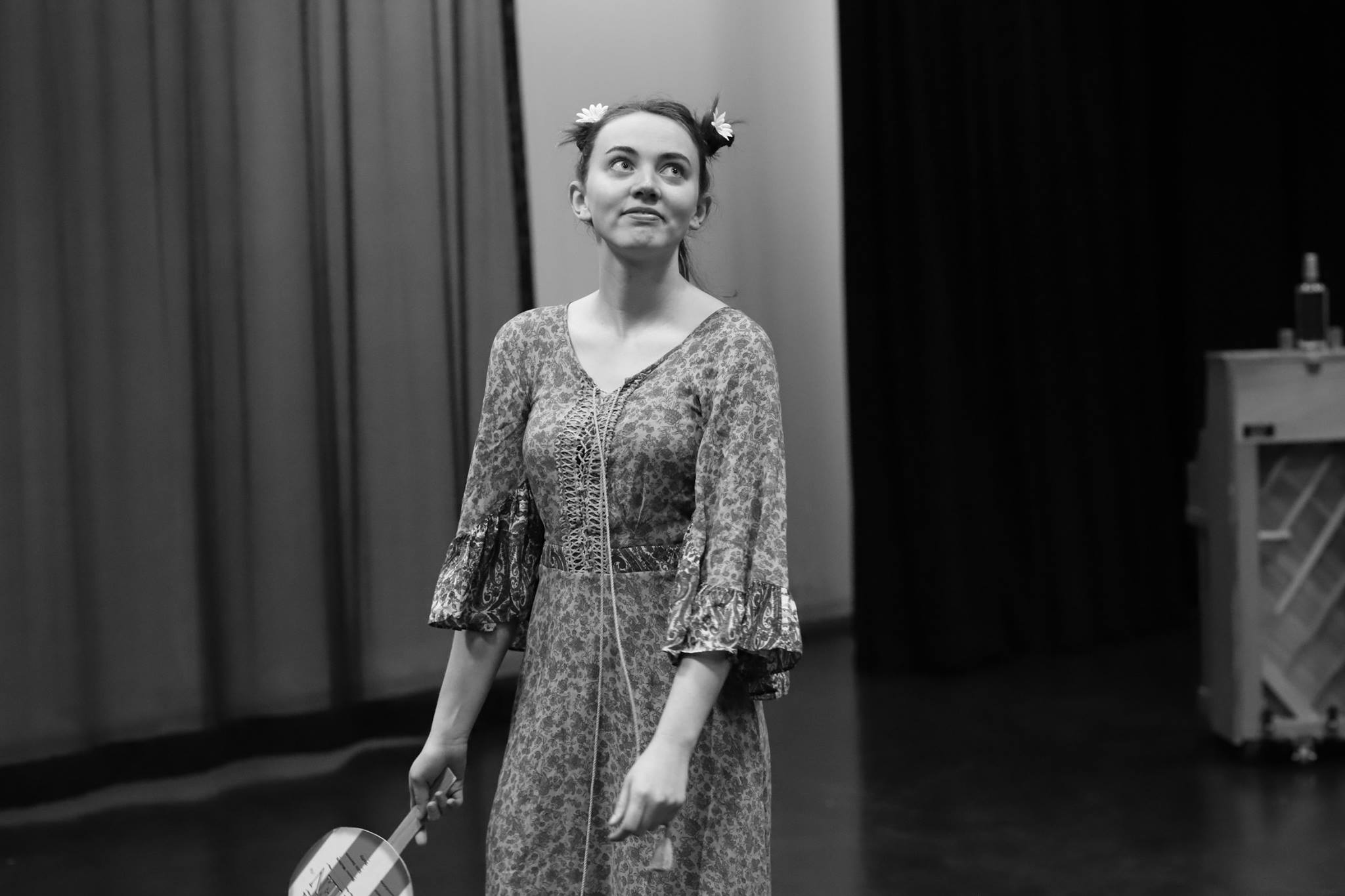 by Michael Frayn, adapted from an original play by Anton Chekhov.  I played SASHA, Platonov's wife.  directed by Gillian Eaton  UMich, February 2018
