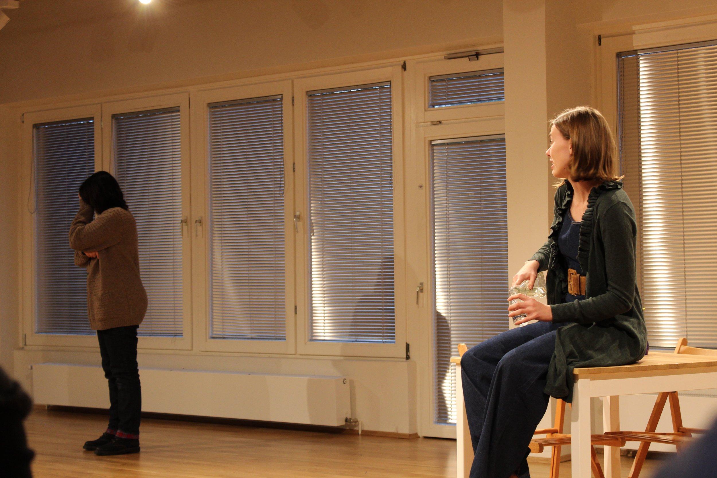 Scene study: Uncle Vanya  Sonya and Yelena  directed by Harry Fuhrman