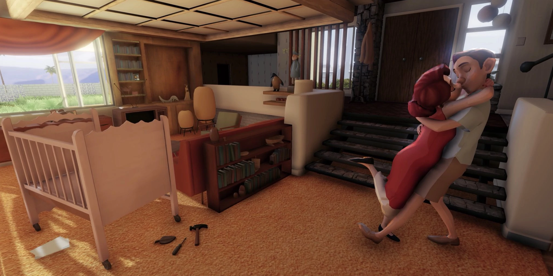 Disney's very first virtual-reality animated short,  Cycles