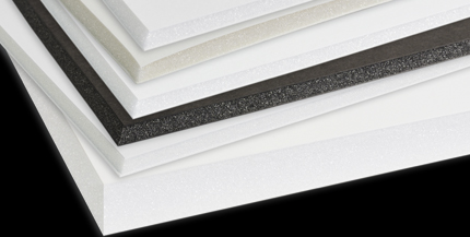 Bainbridge Foamboards - Bainbridge brings customers a vast selection of foamboards for every framing need—from advanced archival boards to heat-activated specialty boards. Many feature the patented Artcare™ technology that neutralizes harmful gases and protects art well into the future.We stock Acid-free, black and regular foamboard in various sizes.