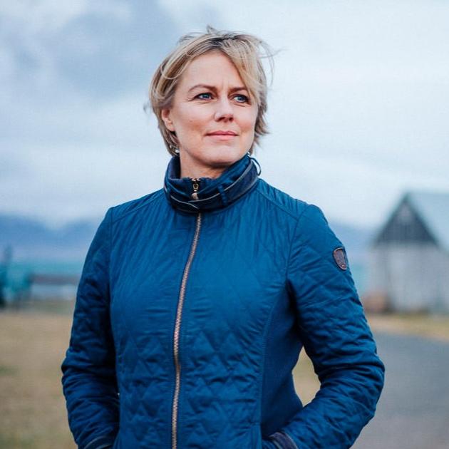 María Ellingsen - Leikkona og framkomuþjálfari