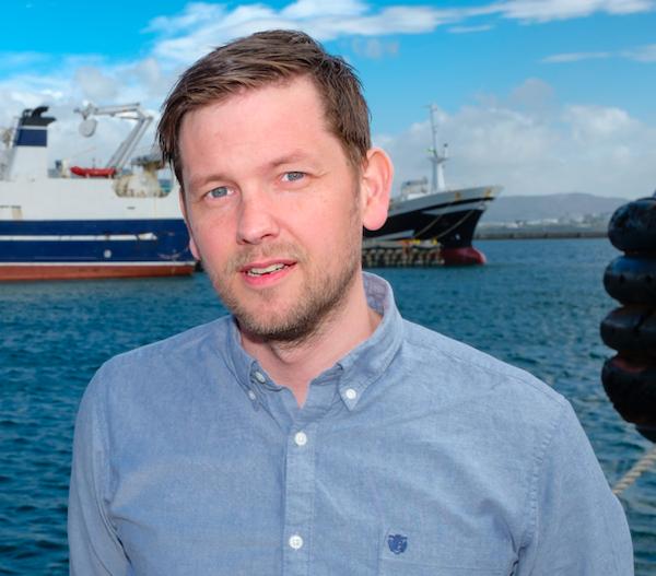 Davíð Freyr Jónsson  Framkvæmdastjóri Aurora Seafood