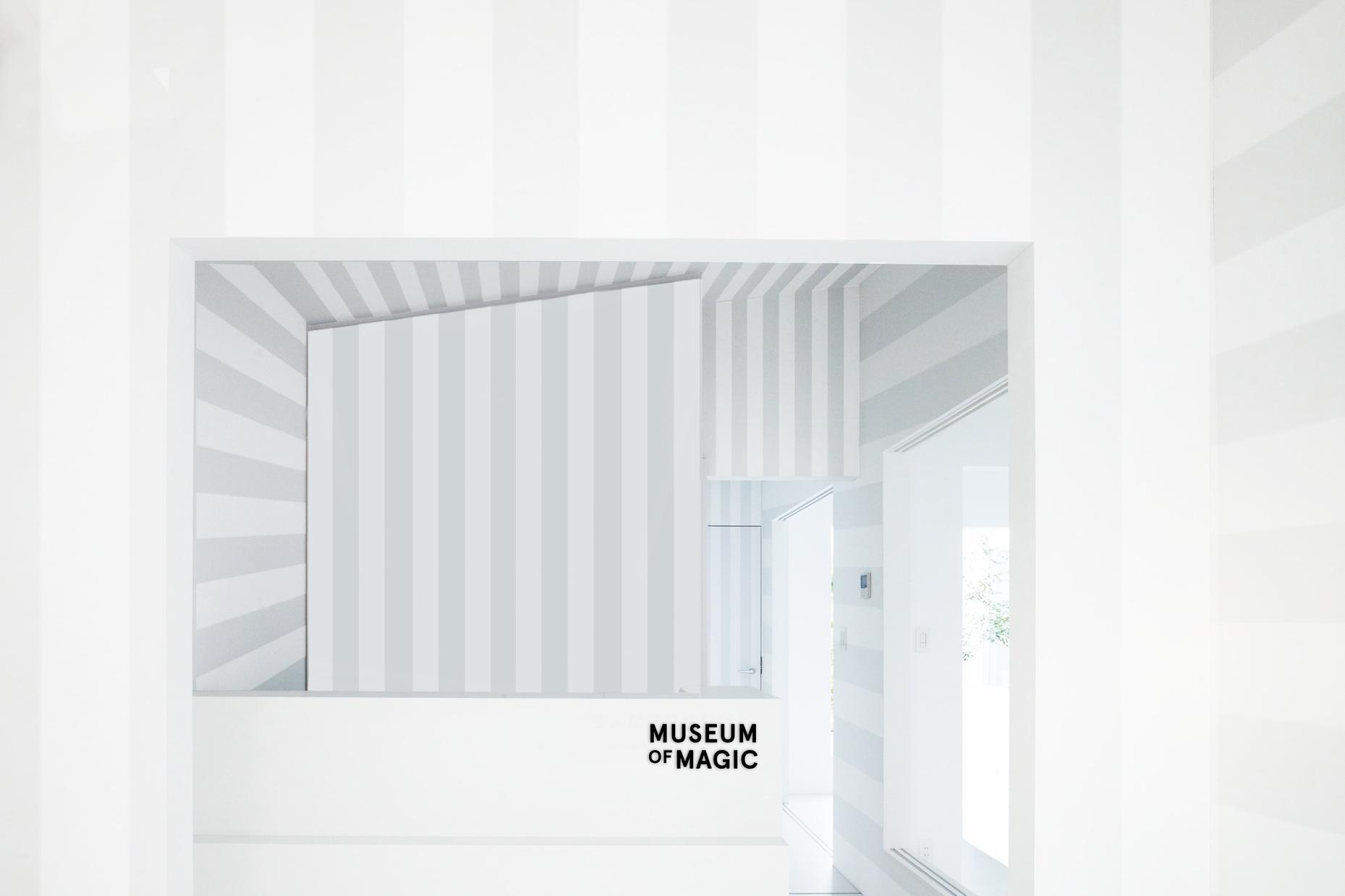 MUSEUM OF MAGIC Branding, Environmental Design