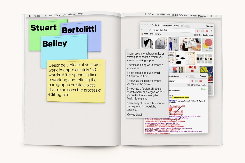 VISITING DESIGNERS PROCESS BOOK Print Design