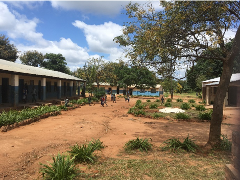 Nameembo Primary School (Upgraded), in Chikankata district, Zambia