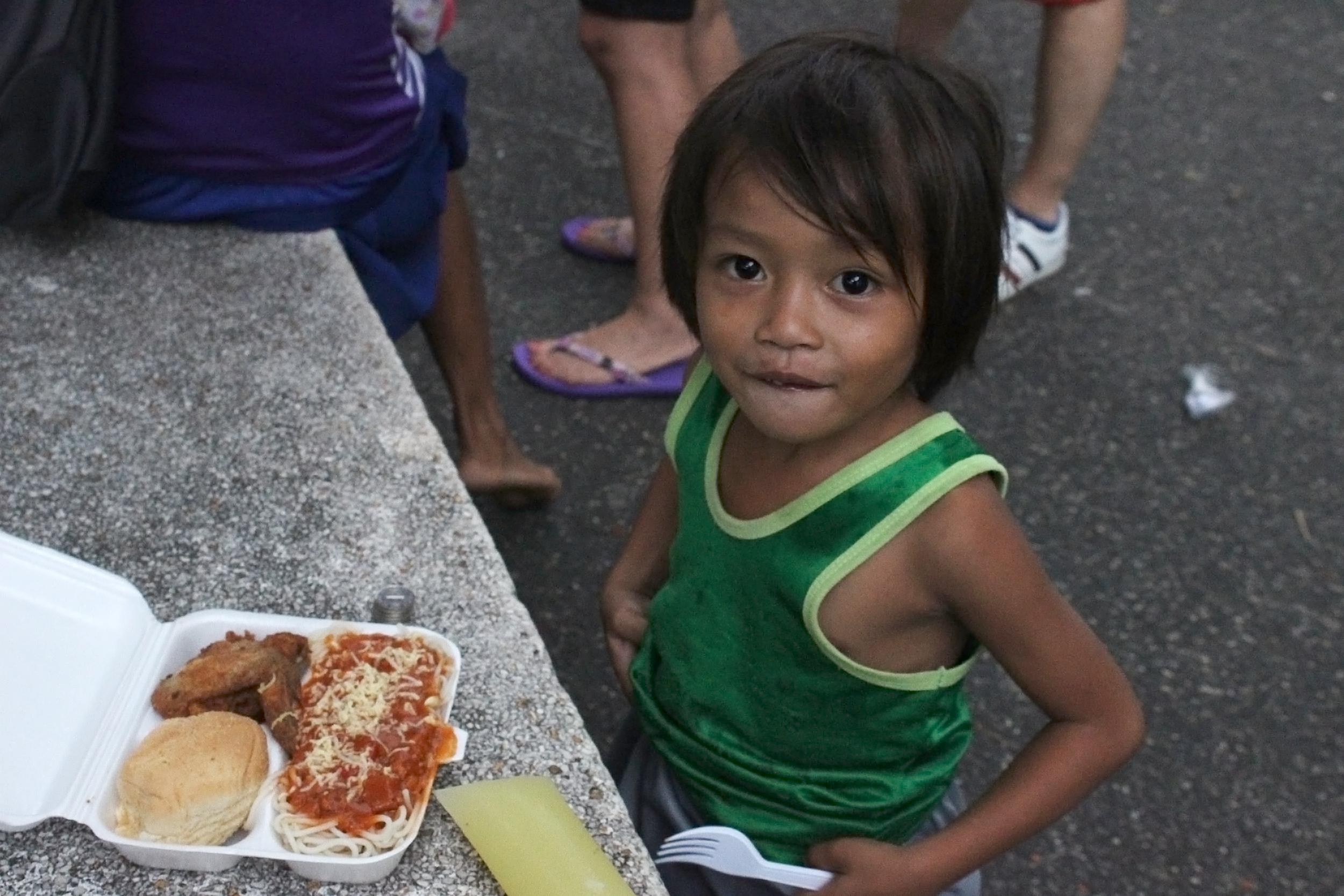 Vårt sociala engagemang - Give a Child a Future, Philippines