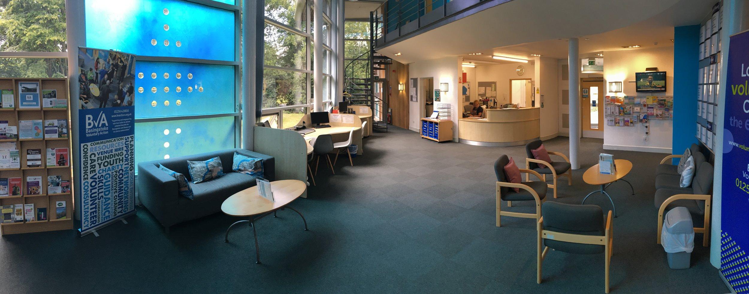The Mindspace Foundation Waiting Area