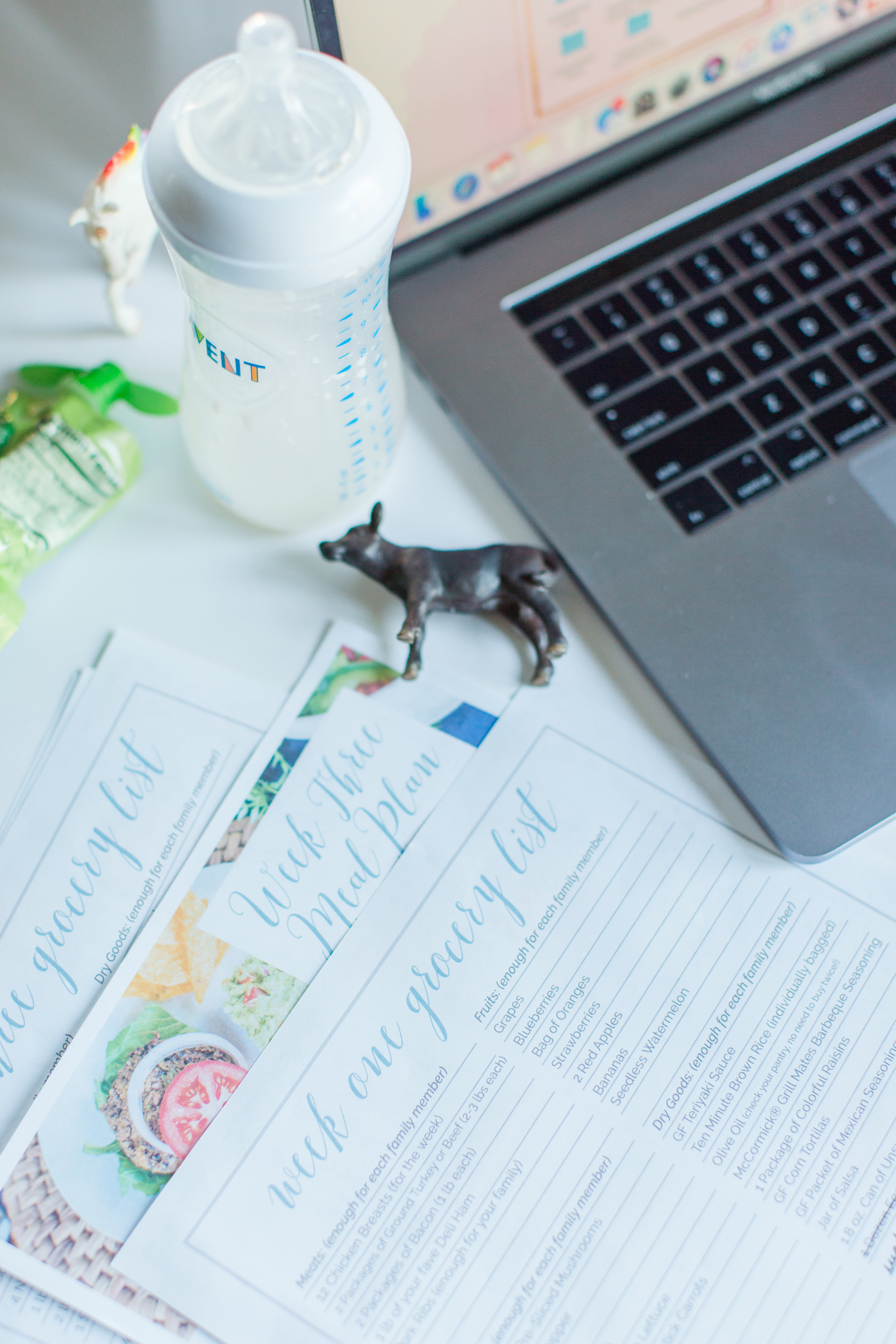 Meal planning is a life changer! - Sign up and I'll send you a resource that will jump start a new healthy habit!