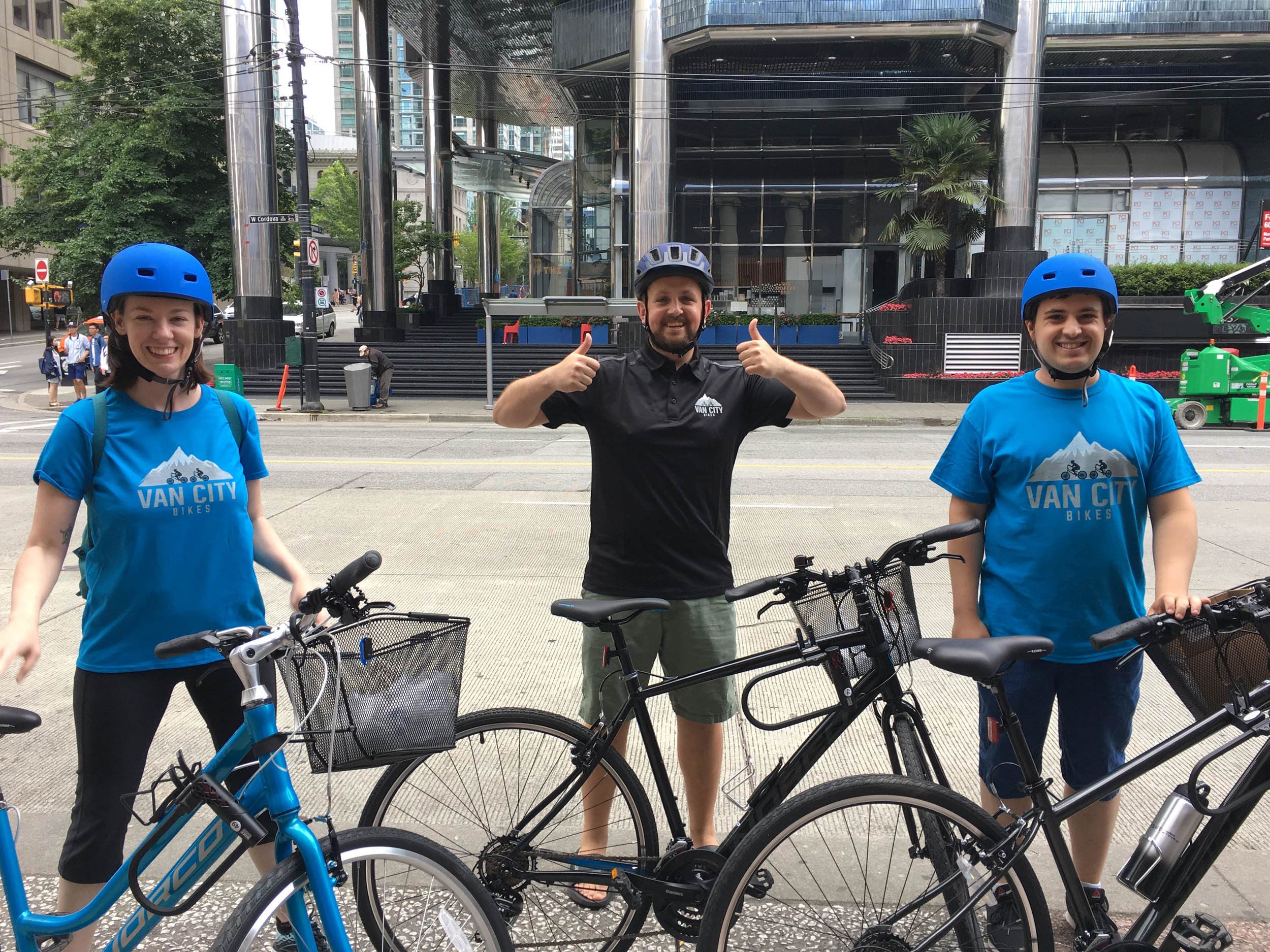 Our bike rental vancouver team