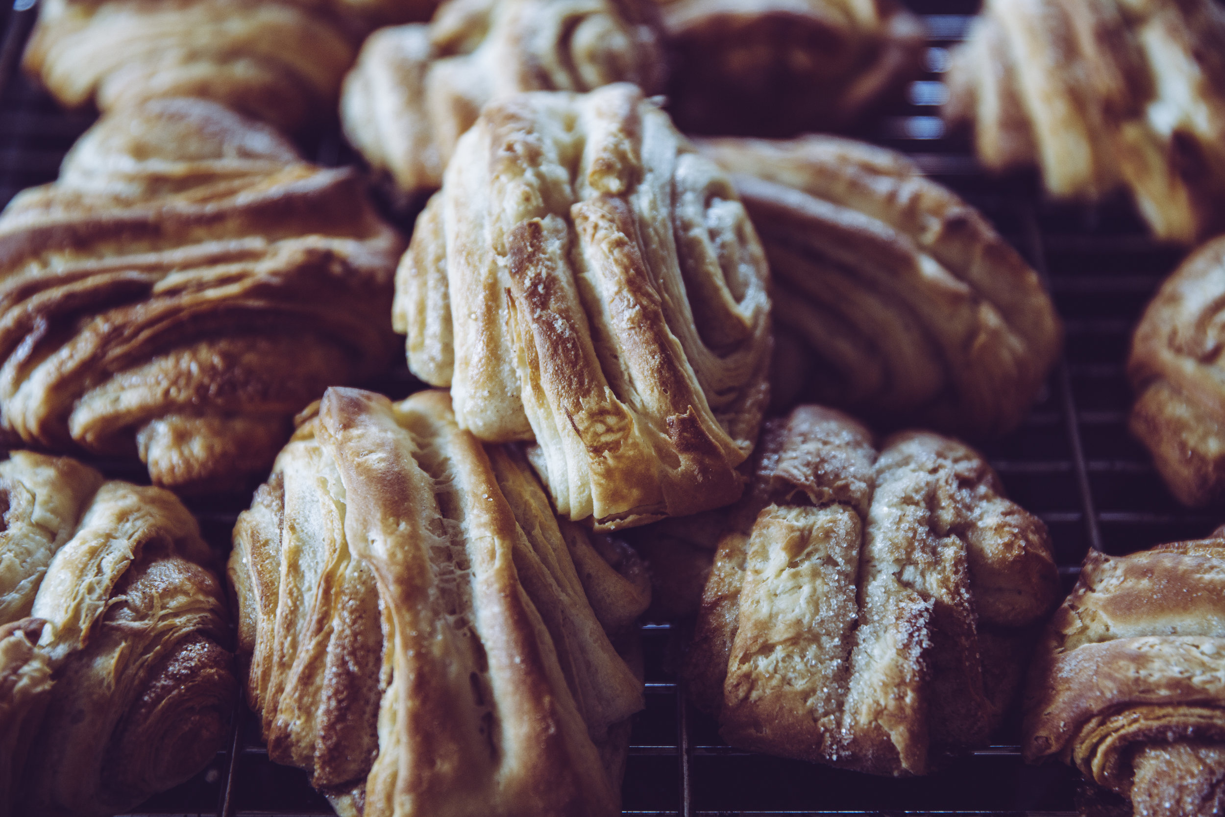 CLASSIC CROISSANT MADE WITH BUTTERY, LAYERED DOUGH - And much more delicious pastries