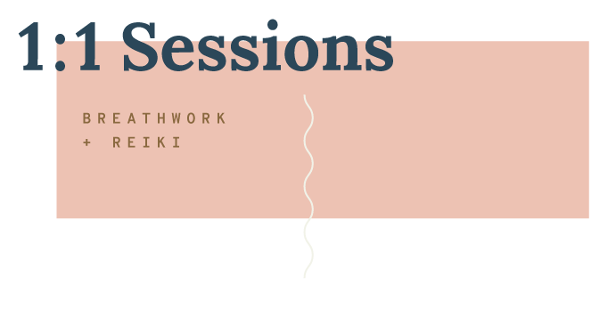 Private, one-on-one sessions include a personal check-in followed by the guided, active 2-part breathwork. We finish with a deeply unwinding rest period combined with hands-on/hands-off Reiki for increased healing. These sessions are custom-tailored to each client's particular needs. -