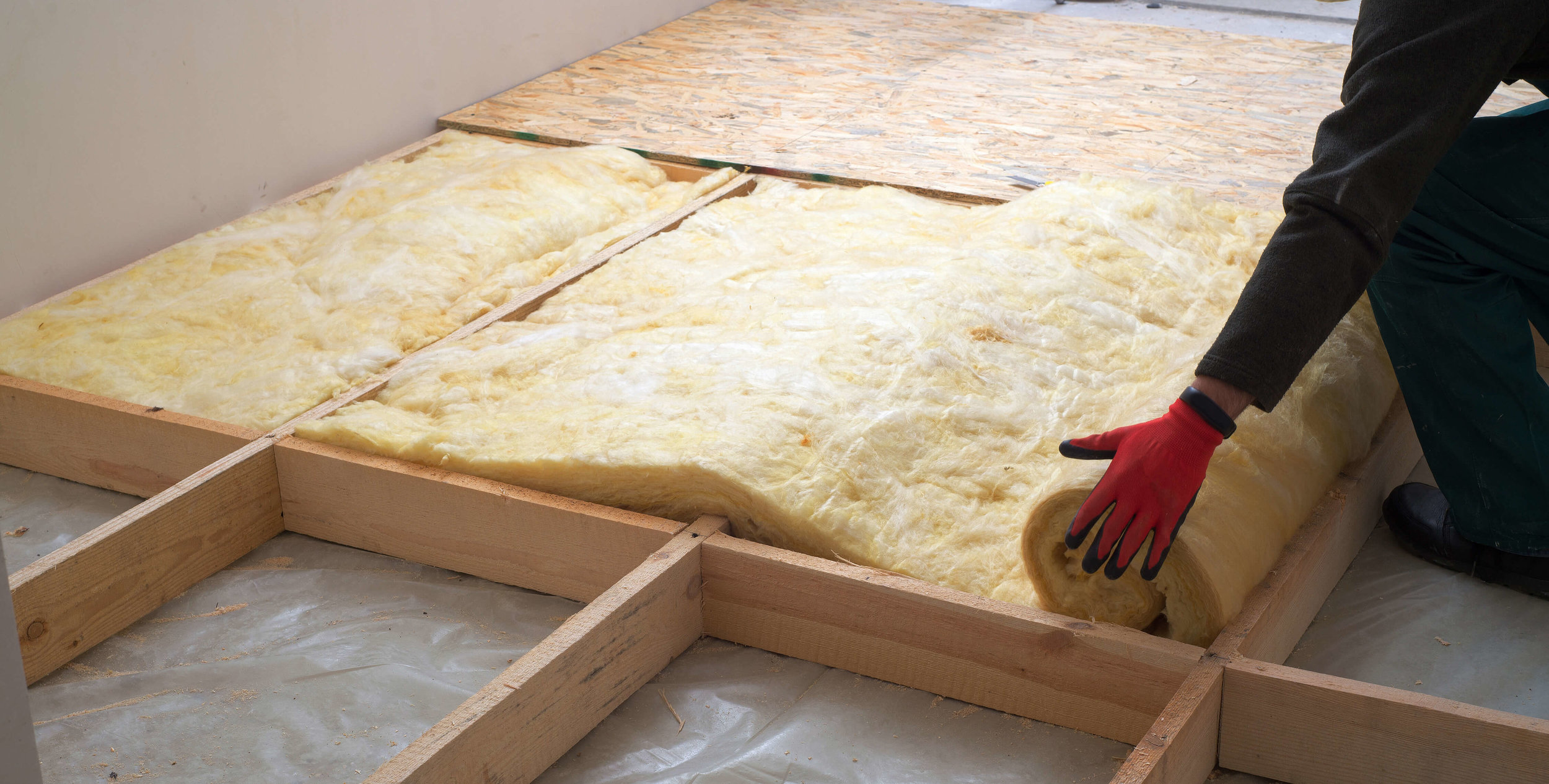 Insulation is a great way to make your home more energy efficient, especially during the cold winter months.