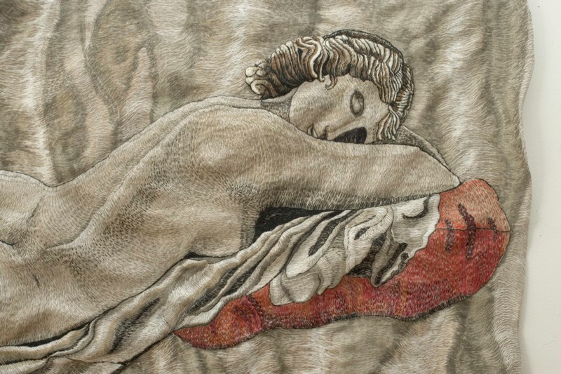 Detail: Mixed Messages (from the Sleeping Hermaphrodite)