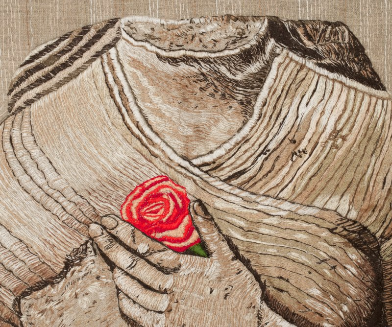 Detail: Kore with a Rose