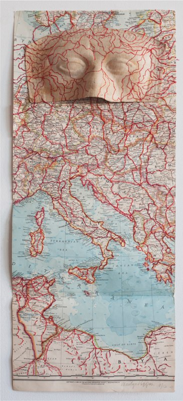 Maps and Masks: National Geographic Road Map 1956