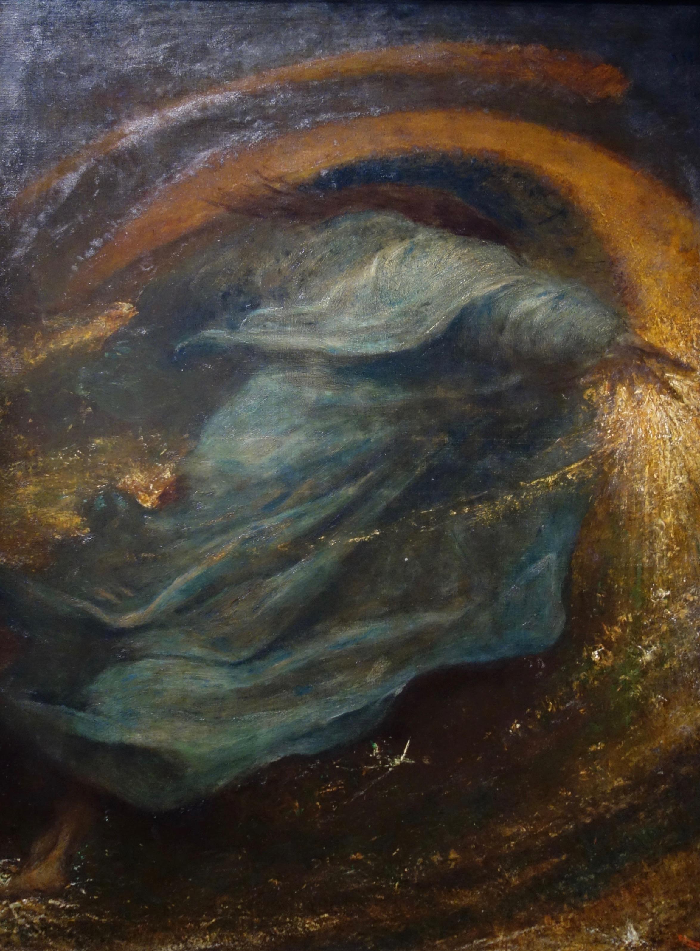 Georg Frederick Watts,  Le semeur d'étoiles , 1902, Watts Gallery, Compton