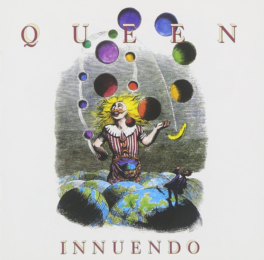 Richard Gray,  Pochette de l'album  Innuendo  de Queen , 1991