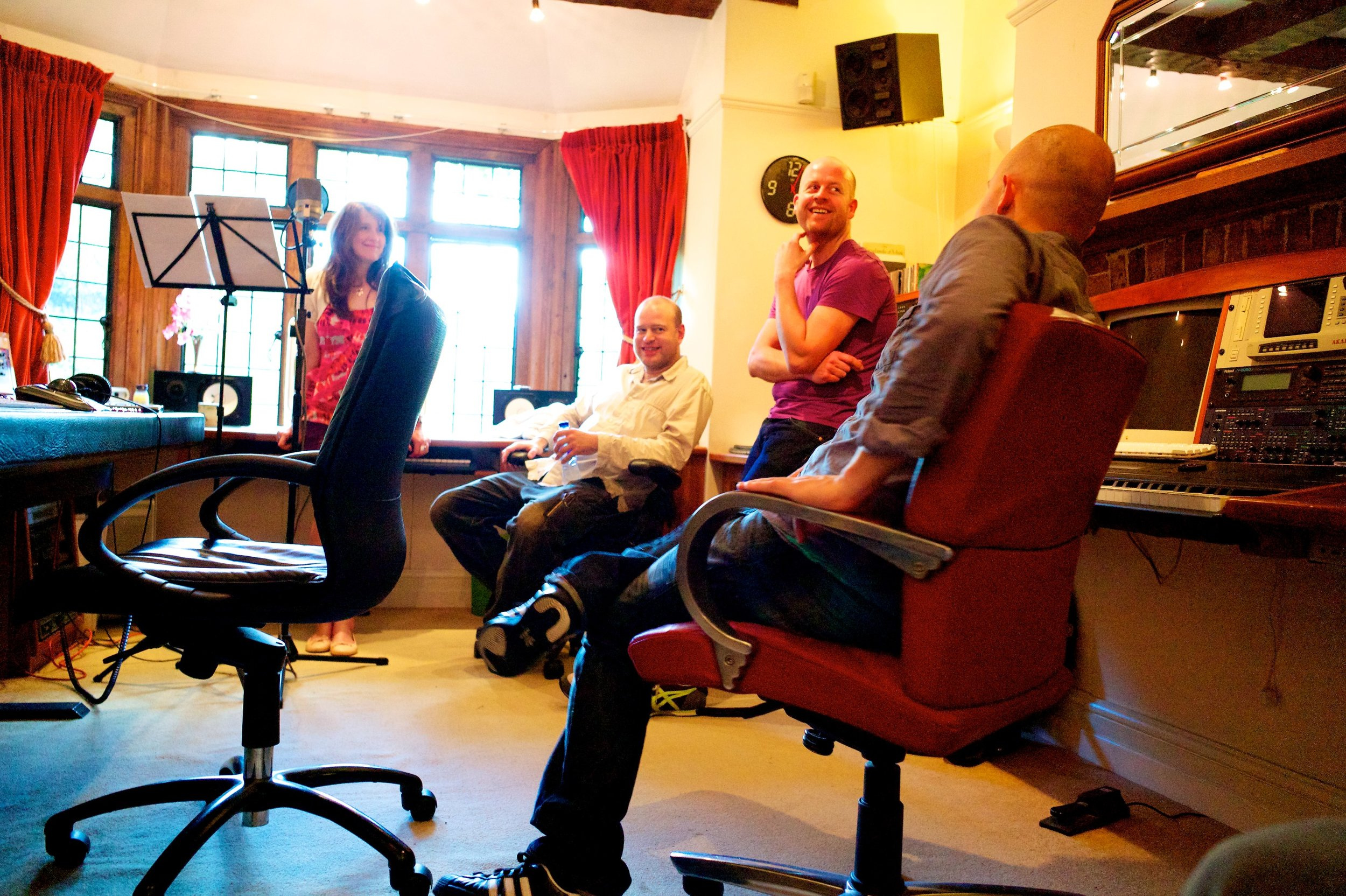 All smiles in Curt's studio 19:6:11.jpg