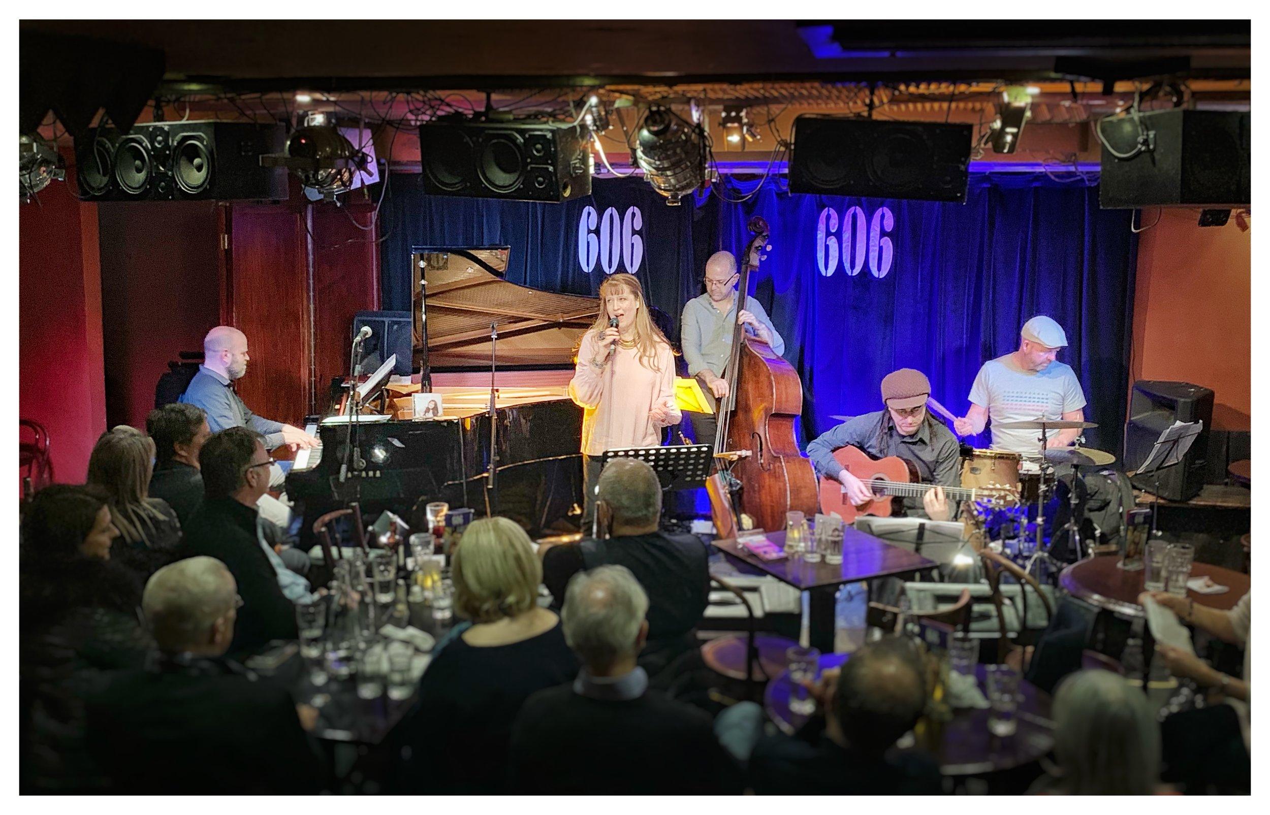 Daniela's Quintet performing at London's 606 Jazz Club (27/1/19)