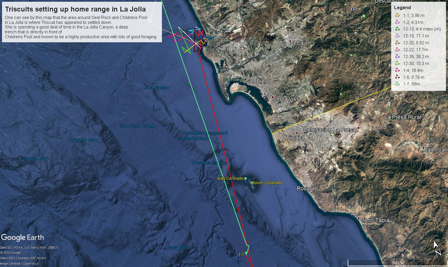 Triscuit range of La Jolla