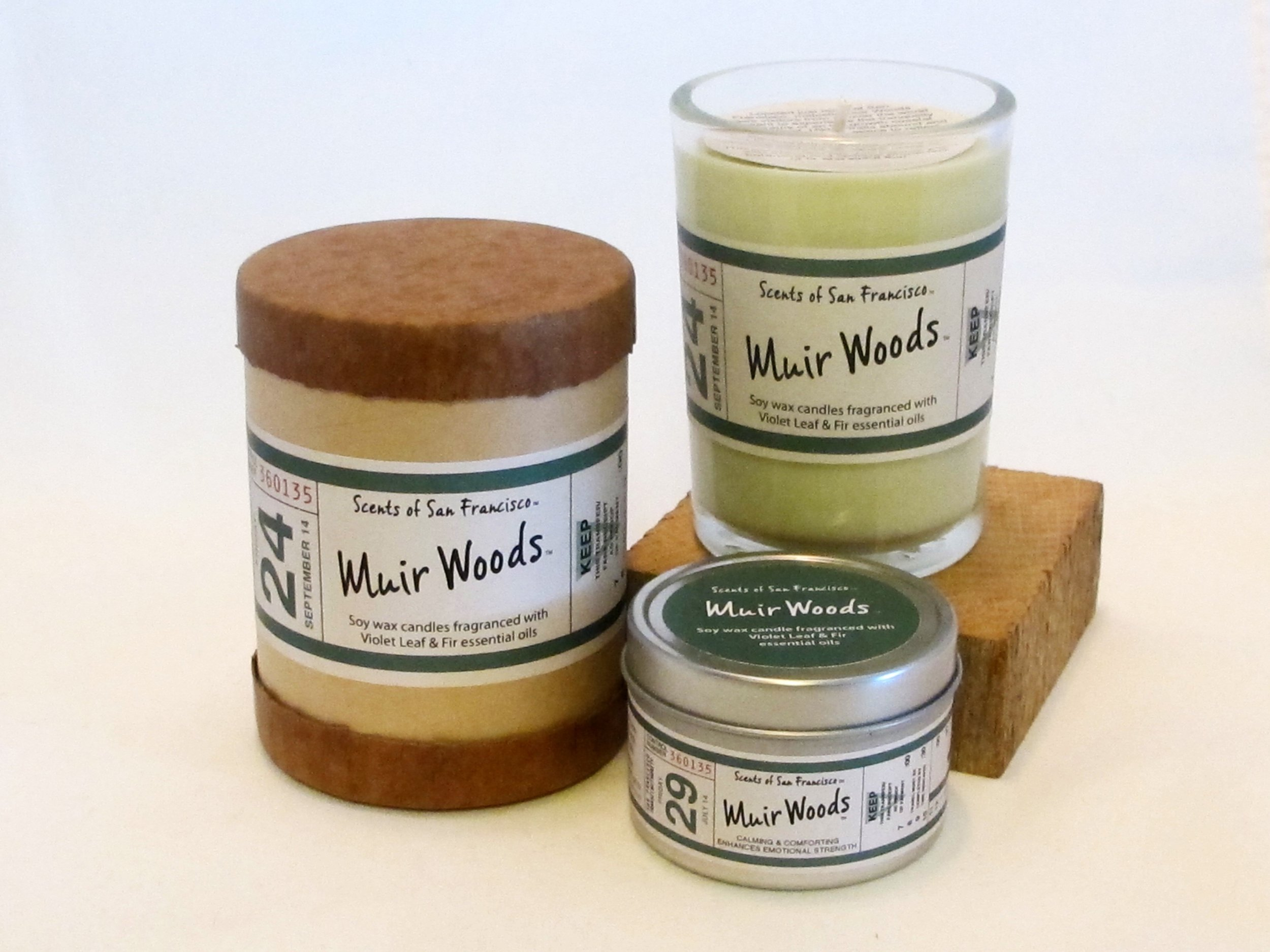You may also like: - Scents of San Francisco Muir Woods Candle
