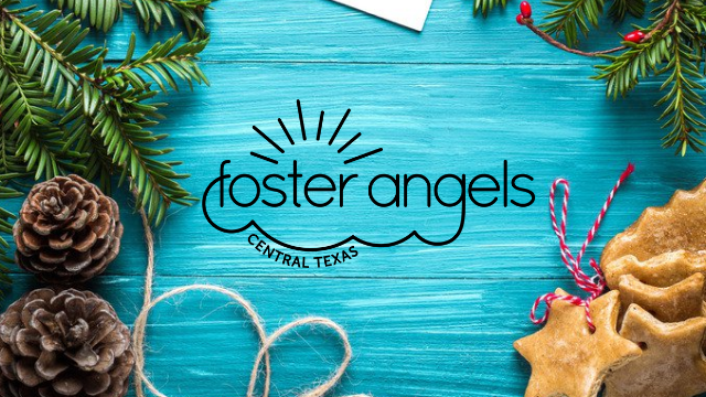 Toy Drive for Foster Angels - Help us 'Fill Santa's Sleigh' at Holiday at the Oaks on December 6th. Please bring an unwrapped toy or gift card for Central Texas foster families!