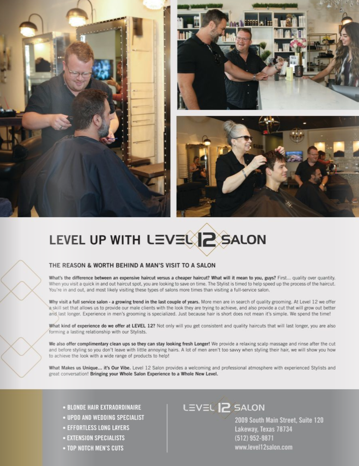 Level Up with Level 12 - Level 12 Salon in Waterways Magazine