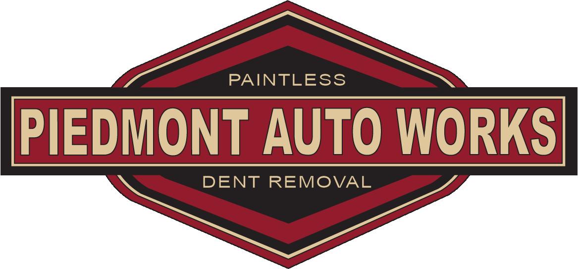 Piedmont Auto Works paintless dent repair.