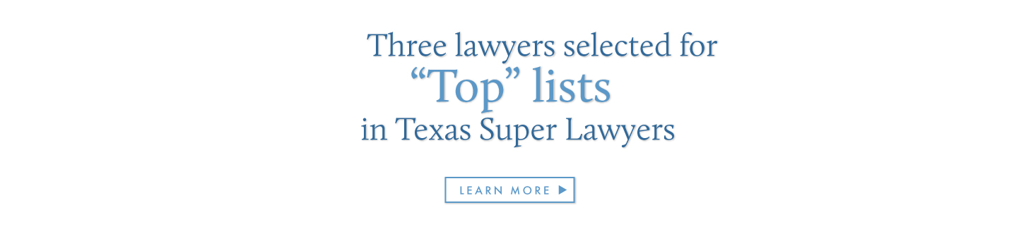 Texas Super Lawyers Top Lists 2020